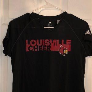 Louisville Cheer Adidas Dri Fit Shirt